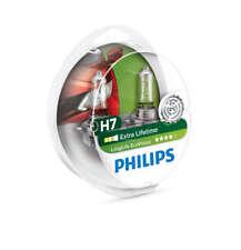 COPPIA Lampada Lampadina Luce PHILIPS LongLife H7 (PX26d) 12V55W EcoVision