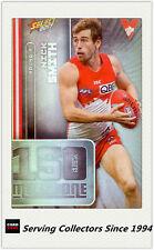 2017 AFL Footy Stars Trading Card Milestones Subset MG65 Nick Smith (Sydney)