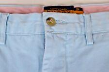 Ralph Lauren Rugby Men's Pants Size 34 x 34 Cotton Baby Blue Flat Front Casual