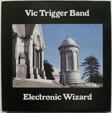 VIC TRIGGER BAND Electronic Wizard 1977 US RARE & OOP! FREE Shipping!