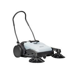 New Nilfisk SW250 Manual Gear Driven Walk Behind Sweeper Compact Lightweight