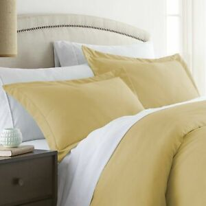 Home Collection 2 Piece Premium Pillow Sham Set Ivory 20 x 26