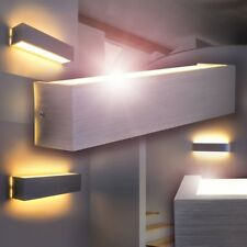 LED Lámpara de pared metal pantalla color blanco vestíbulo corredor salón