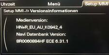 Brandneues Audi MMI 3G Plus Update 2021 - A4-A5-A6-A7-A8-Q3-Q5-Q7 - Navi 6.31.1