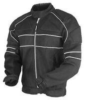 Men's Cordura Racing Motorbike S Black Waterproof Motorcycle Jacket