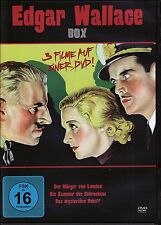 EDGAR WALLACE Klassiker Box WÜRGER VON LONDON Kammer des Schreckens DVD Edition