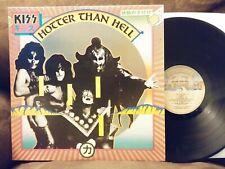 KISS Hotter Than Hell LP NM 1985 reissue NBLP 7006 Allen Zentz master PolyGram