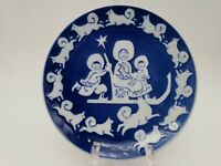 Vintage 1974 Mors Dag Royal Copenhagen Denmark Mother's Day Decorative Plate
