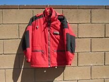 Vtg Mens Free Country Usa Winter Sport Cold Weather Jacket M Red