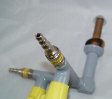 Gas Tap for Techniktisch Labortische Eckgashahn 90° Bunsen Burner Brenner Dvgw