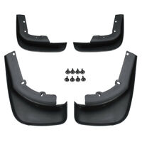 4Pcs Front & Rear Mud Flap Splash Guards Mudflap Set For Volvo XC60