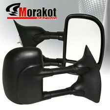 99-07Ford F250/350/450/550 /Excursion 01-05 Extendable Manual Tow Mirror Black