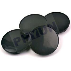 58mm/ 53mm Black ABS Car Wheel Center Hub Caps Decorative cover Set of 4