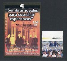 ECUADOR 2006 Plaza de Mayo Flaggen Flags Politik 2928 + Block 192 ** MNH