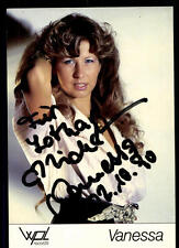 Vanessa Autogrammkarte Original Signiert ## BC 48016