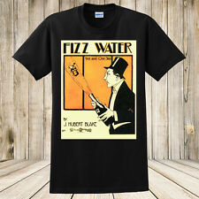 New Fizz Water Antique Sheet Music Art T-Shirt Alcohol Champagne Sparkling Wine