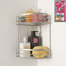 Eck Badablage Duschablage Badregal Duschkorb ohne Bohren