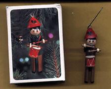HALLMARK 1981 Christmas CLOTHESPIN DRUMMER BOY Ornament