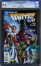 JUSTICE LEAGUE UNITED #0 - CGC 9.8 - FIRST PRINT - RELAUNCH - CANADA