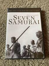 Seven Samurai DVD  The Criterion Collection Akira Kurosawa 1998