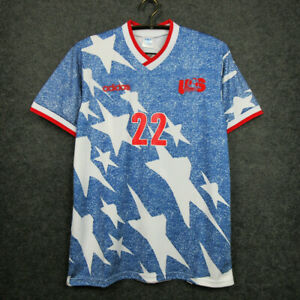 1994 USA Retro Away Shirt 22 Lalas In All Sizes FOR MEN'S