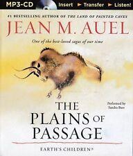 Jean M. AUEL / (Earth's Children Bk 4)  The PLAINS of PASSAGE   [ Audiobook ]