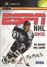 ESPN NHL 2K5 (Microsoft Xbox, 2004, NTSC)