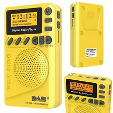 Pocket DAB / DAB+ Digital FM Radio Receiver LCD MP3 Player Speaker Rechargeable