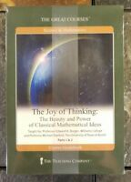 The Great Courses Joy of Thinking: Classical Mathematical Ideas (Book + 4 DVDs)