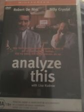 Analyze This (DVD, Widescreen Edition, 1999) Robert De Niro