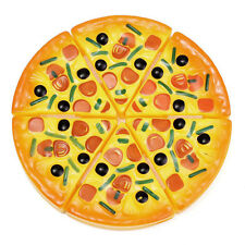 Gift Pretend Party Toy Play 6pcs Set Cooking Food Kids Cutting Baby Pizza Fast