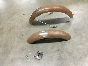 Radio Flyer Red Bicycle Front and Back Fenders