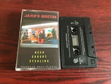 Janes Addiction  - Been Caught Stealing - Cassette  Single - 1990 - CANADA