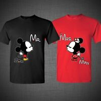 Mickey and Minnie Disney Soul Mate couple matching funny cute T-Shirts Tank Top