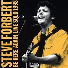 STEVE FORBERT - Be Here Again Live Solo 1998 (CD 1999 Rolling Tide) MINT EXCLLNT