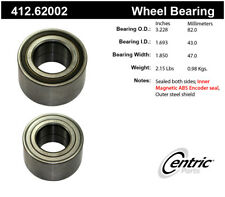 Wheel Bearing-Premium Bearings Rear Centric 412.62002