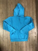 Vtg russell fleece 2000 Teal sweatshirt  90/'s USA Made Super Soft Comfy SMALL