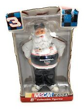 NASCAR Collectable NIB Santa Figure, 2004, 8 IN Tall, #3 Goodwrench Service Plus
