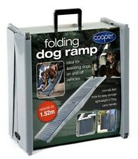 PORTABLE, FOLD UP, LIGHTWEIGHT DOG RAMP DOGS UP TO 35KG