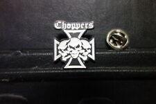 Pin CHOPPERS EISERNES KREUZ TOTENKOPF - 2,5 x 2 cm