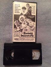 The Savage Innocents (1960) - VHS Tape - Adventure - Anthony Quinn - Yôko Tani