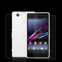 Latest 3 FRONT+3 BACK Clear Screen Protector Film For Sony Xperia Z1 Compact