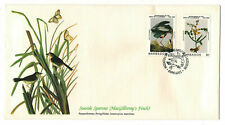 "Barbados 1985 Very Fine FDC "" Birds of the World "" Seaside Sparrow"