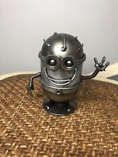 Despicable Me Minion Recycled Scrap Metal Sculpture *Rare* Hand Made