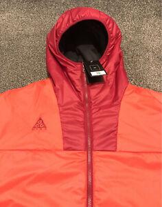 Nike ACG Primaloft Coat Mens XL Orange And Red Active Rare RRP £170