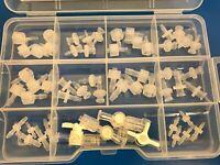 FPLC Chromatography Fitting Connector Kit, 55 PCS