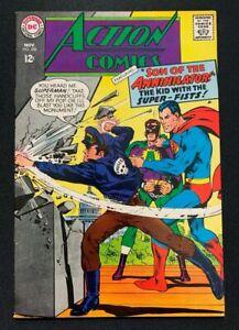 ACTION COMICS #356 1967 VF+ 8.5 Superman Supergirl app Neal Adams cover