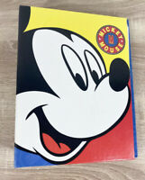 Vintage Mickey Mouse Photo Album Disney 10.5in - Free Fast Shipping!