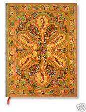 Paperblanks Blank Lined Writing Journal Bukara Amber gold Ultra Size 7X9 New