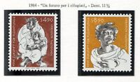 19333) UNITED NATIONS (Vienna) 1984 MNH** Refugees